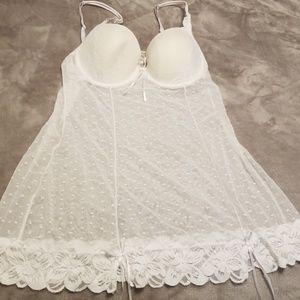 White teddy size L